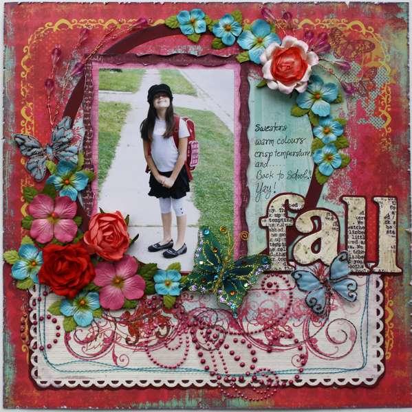 Fall **MY CREATIVE SCRAPBOOK LE KIT**
