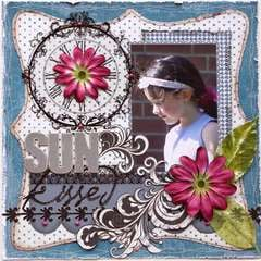 Sun Kissed ***MY CREATIVE SCRAPBOOK***