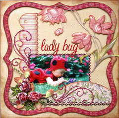 **ZVA CREATIVE** DT layout ~ Lady bug