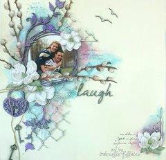Laugh **VIDEO TUTORIAL** Shimmerz & Dusty Attic
