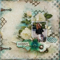 Leg Warmers **Dusty Attic & Websters Pages**