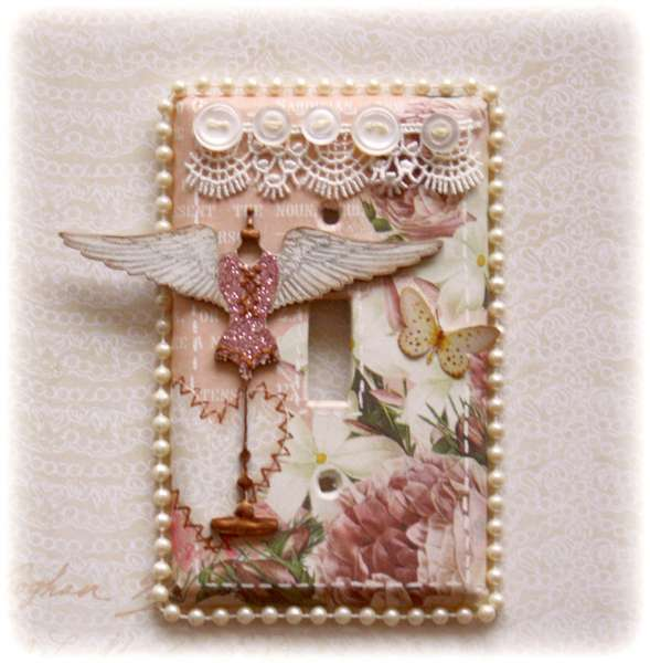 Light Switch Plate Cover **Websters Pages & Dusty Attic**