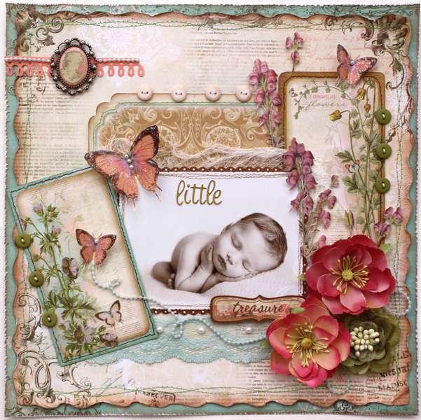 Little Treasure **Bo Bunny ~ Gabrielle!**