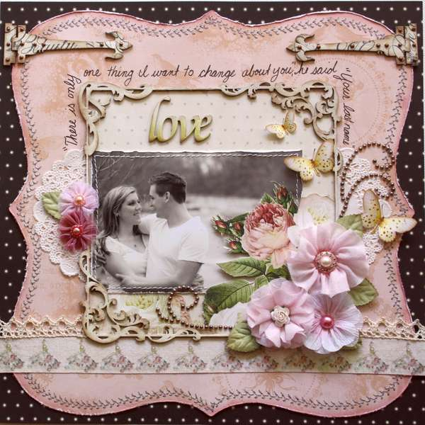 Love **Websters Pages 'In Love' Collection**