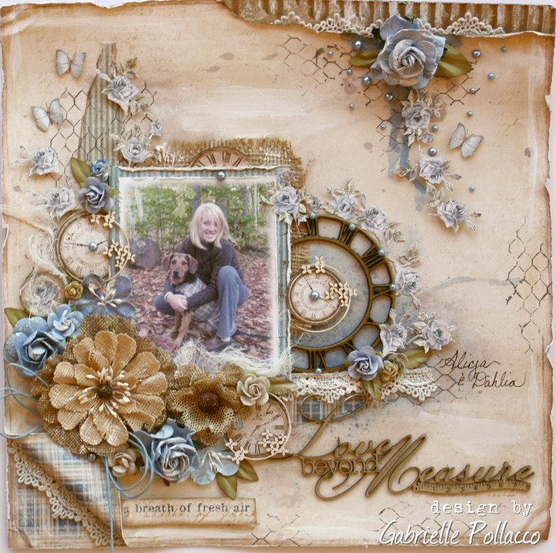 Love Beyond Measure *Maja Design & The Scrapbook Diaries**