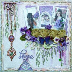 Love **TCW Stencils, Dusty Attic & Maja Design**