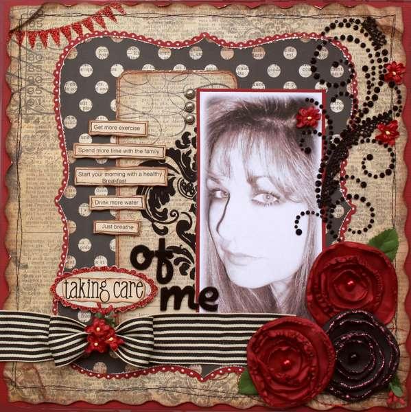 Taking Care of Me **MY CREATIVE SCRAPBOOK**
