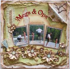 Megs & Opa ***MY CREATIVE SCRAPBOOK***