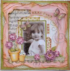 Barefoot Baby **MY CREATIVE SCRAPBOOK**