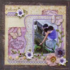 Enchanting **MY CREATIVE SCRAPBOOK**