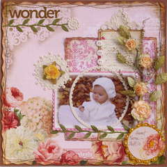 Wonder **MY CREATIVE SCRAPBOOK**