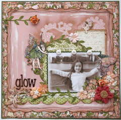 Glow  **MY CREATIVE SCRAPBOOK**