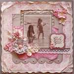 Girly Girls **MY CREATIVE SCRAPBOOK**