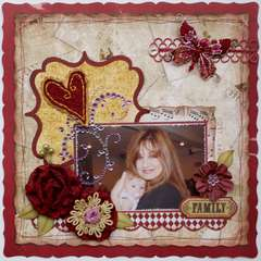 Family  **MY CREATIVE SCRAPBOOK**
