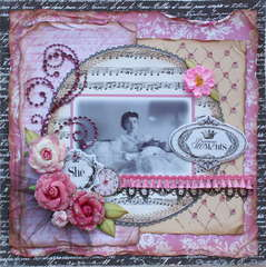 Precious Moments **MY CREATIVE SCRAPBOOK**