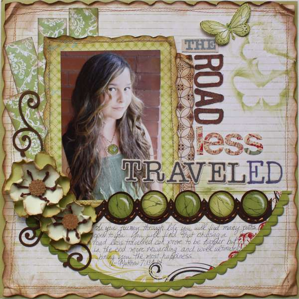 The Road Less Traveled  **My Creative Scrapbook**