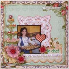 Le Chef **MY CREATIVE SCRAPBOOK**
