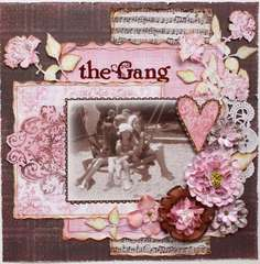 The Gang **My Creative Scrapbook**