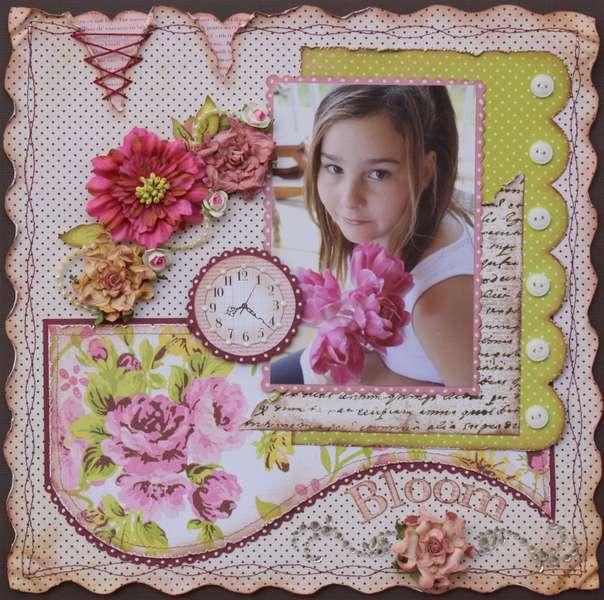 Bloom  ***MY CREATIVE SCRAPBOOK***