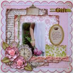 A Perfect Gift  ***MY CREATIVE SCRAPBOOK***