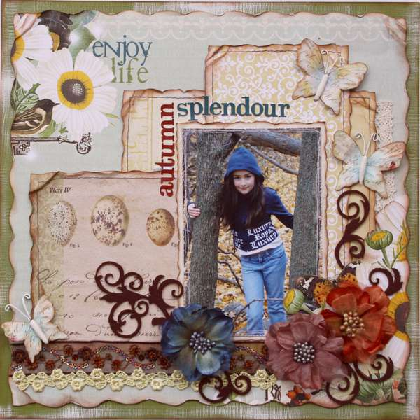 Autumn Splendour  **MY CREATIVE SCRAPBOOK**