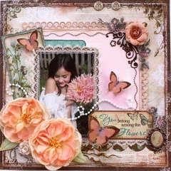 Among the Flowers ***Bo Bunny***