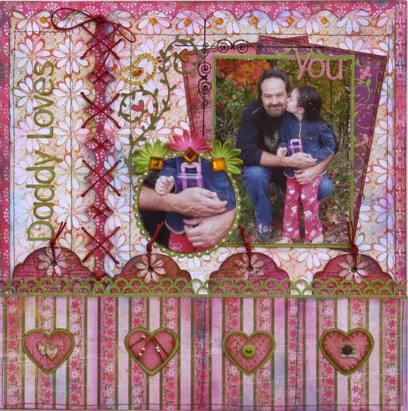 Daddy Love's You  ***MY CREATIVE SCRAPBOOK***