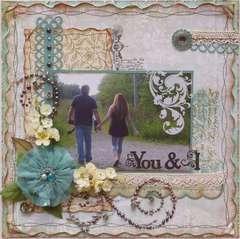 You & I   ***MY CREATIVE SCRAPBOOK***