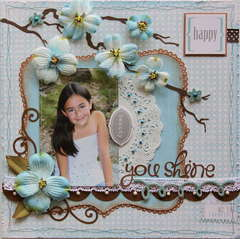You Shine  ***MY CREATIVE SCRAPBOOK***