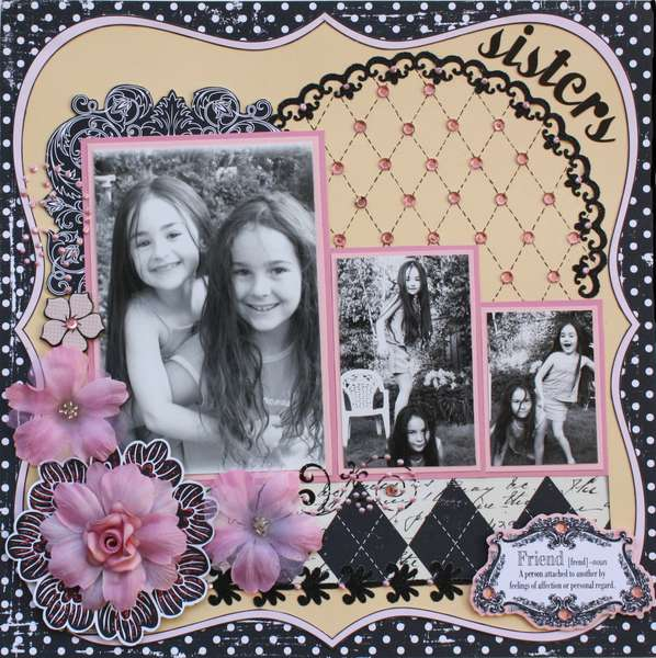 Sisters **MY CREATIVE SCRAPBOOK KIT**