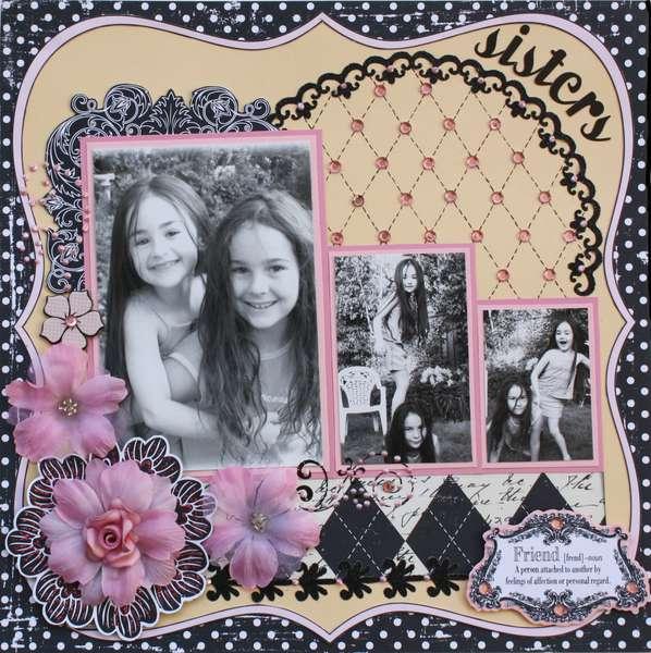 Sisters **MY CREATIVE SCRAPBOOK KIT**