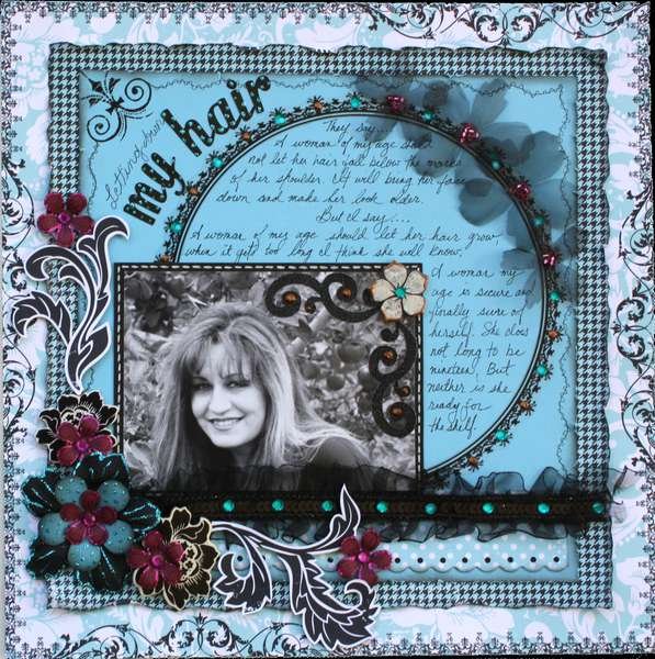 Letting Down My Hair **MY CREATIVE SCRAPBOOK KIT**