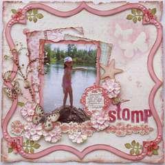 Stomp  ***MY CREATIVE SCRAPBOOK***