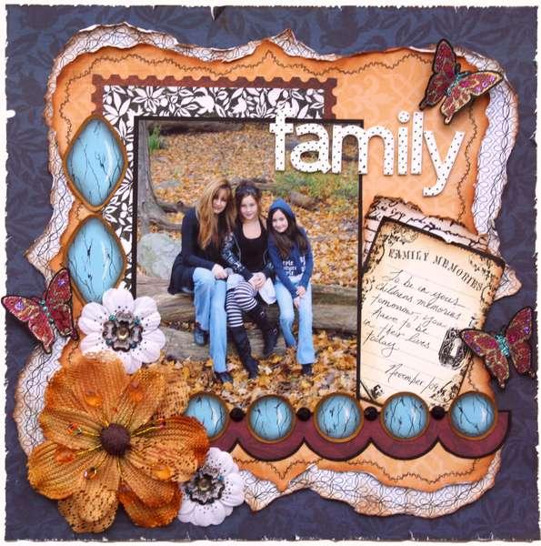 Family  ***MY CREATIVE SCRAPBOOK***