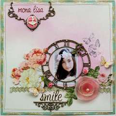 Mona Lisa Smile **Websters Pages & Dusty Attic**