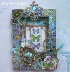 Enchanted Canvas **Bo Bunny Mood Board**