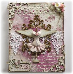 Paris **Shimmerz, Maja Design & Dusty Attic DT's with VIDO TUTORIAL**