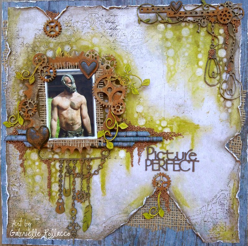 Picture Perfect **The Scrapbook Diaries Kit & Video**