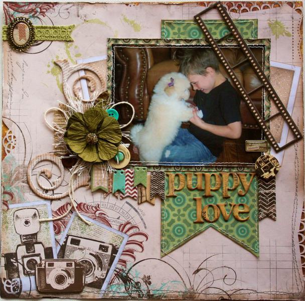 Puppy Love **Bo Bunny's NEW Mama-Razzi 2!!**