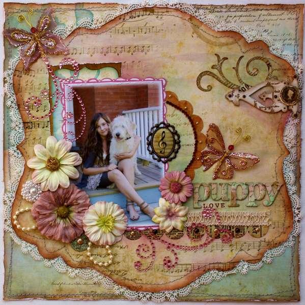 Puppy Love **Bo Bunny Et Cetera Collection!**
