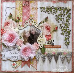 Friends for Life **SOE - Scraps of Elegance Guest Designer**