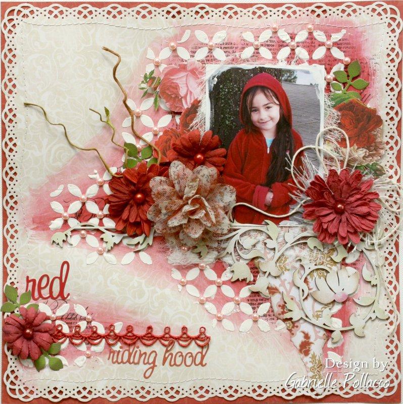 Red Riding Hood **Australian Scrapbook Ideas Magazine**