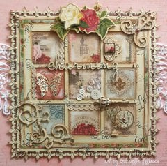Shabby-Chic Wall Art **BoBunny & Dusty Attic**