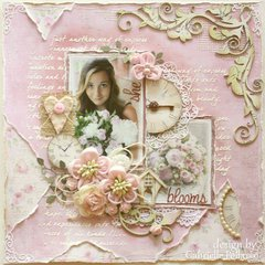 She Blooms **NEW MAJA DESIGN & BLOOM TUTORIAL!!**