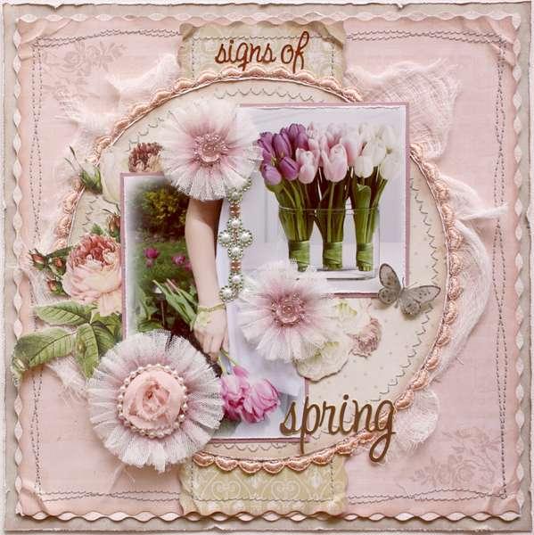 Signs of Spring **BLOOM TUTORIAL** Websters Pages DT