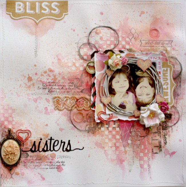Bliss **Websters Pages & Dusty Attic DT**