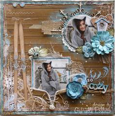 So Cozy **NEW Bo Bunny 'Powder Mountain' & Dusty Attic**