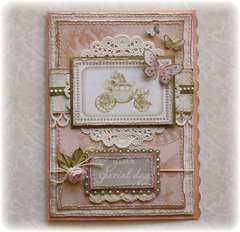 Your SPecial Day Card **Websters Pages 'In Love'**