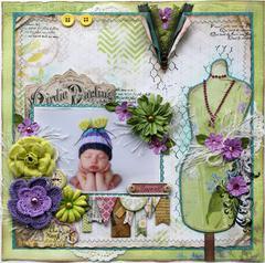 Sweet **Bo Bunny C'est La Vie, & Background Stamps!!**