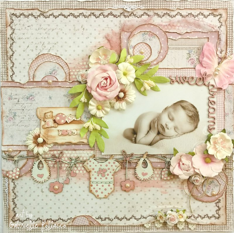 Sweet Dreams **Page Kit ~ The Scrapbook Diaries**